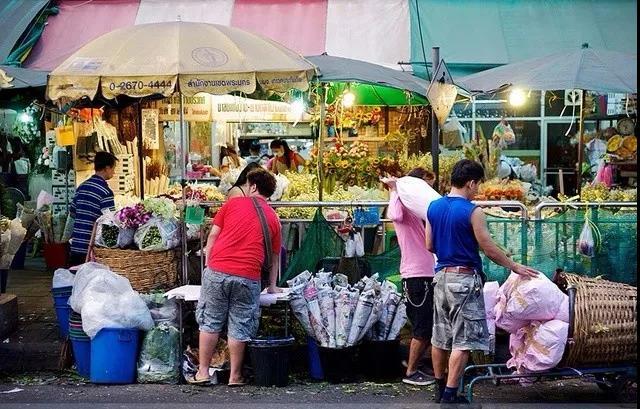 帕空鲜花市场