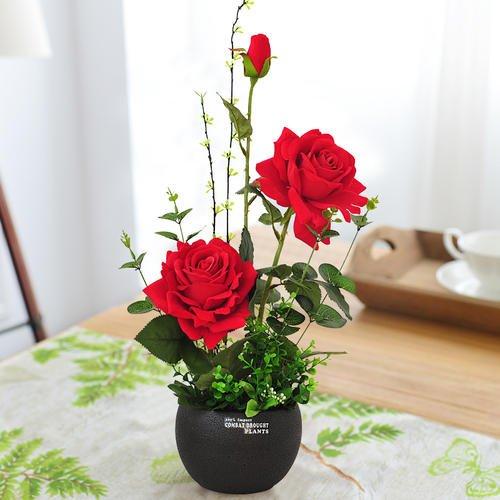 室内鲜花摆放