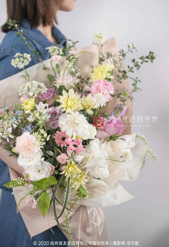 图为线上课程《韩式花束》作品.jpg